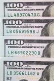 Деньги доллара в серии Стоковое фото RF