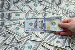 Деньги доллара Стоковое Изображение