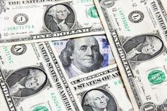 Деньги долларовых банкнот Стоковая Фотография