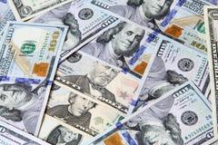 Деньги долларовых банкнот Стоковое фото RF