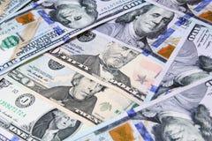 Деньги долларовых банкнот Стоковая Фотография RF