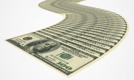 деньги пачки Стоковые Изображения RF