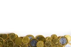 деньги предпосылки золотистые Стоковая Фотография RF