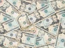 деньги предпосылки Стоковое Изображение