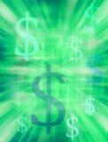 деньги предпосылки Стоковая Фотография RF