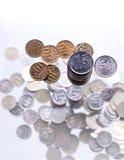 Деньги пригорошни Стоковые Изображения