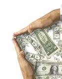деньги принципиальной схемы сохраняют вверх Стоковые Фотографии RF