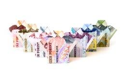 деньги принципиальной схемы Стоковая Фотография
