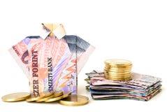 деньги принципиальной схемы Стоковые Фото