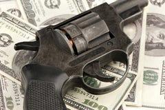 деньги пушки Стоковые Изображения