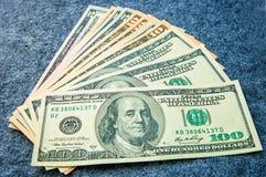 Деньги различных деноминаций Стоковое Изображение