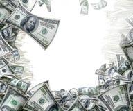 деньги рамки стоковые фотографии rf