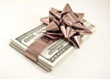 деньги рождества Стоковое Изображение