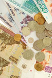 деньги русские Стоковые Фото