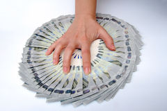Деньги самосхвата Стоковое фото RF
