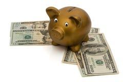 Деньги сбережени Стоковое фото RF