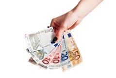 деньги серии евро Стоковая Фотография RF