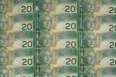 деньги серии cad 029 счетов Стоковое фото RF