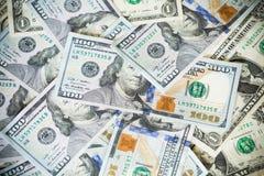 Деньги Соединенных Штатов/100 долларов Стоковое Изображение