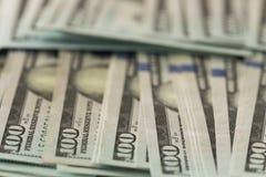 Деньги Соединенных Штатов/100 долларов Стоковое Фото