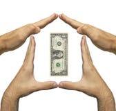 деньги сохраняют ваше Стоковая Фотография RF