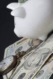 деньги сохраняют время Стоковое фото RF