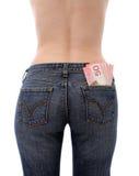 деньги сохраняют тягло ваше Стоковые Фото
