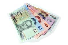 деньги тайские Стоковое фото RF