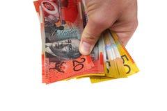 деньги удерживания Стоковая Фотография RF