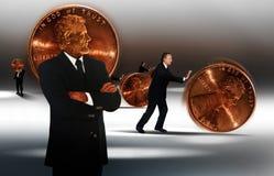 деньги управления Стоковые Изображения