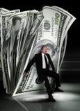 деньги управления Стоковое Изображение RF