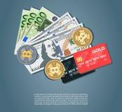 Деньги установленные с bitcoins евро долларов бесплатная иллюстрация