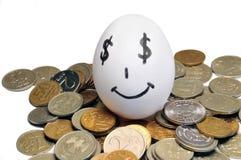 деньги яичка Стоковое Изображение RF