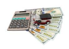 Деньги для автомобиля Стоковая Фотография RF