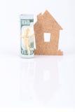 Деньги для дома Стоковое Изображение