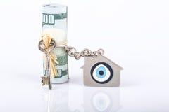 Деньги для дома Стоковая Фотография RF