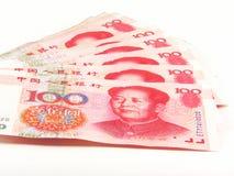 деньги 2 китайцев стоковые фото