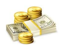 деньги иллюстрация вектора