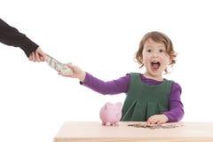 Деньги! Стоковое Фото