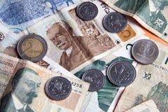 деньги Georgia Стоковое Изображение RF