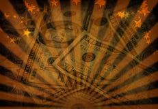 деньги grunge Стоковая Фотография RF