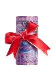 деньги Hong Kong подарка Стоковое фото RF