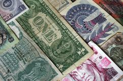 деньги ii стоковая фотография