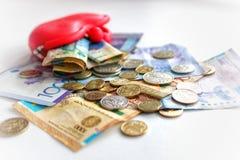 деньги kazakhstan Стоковое Изображение