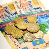 деньги kazakhstan стоковые изображения rf