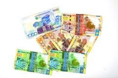 деньги kazakhstan стоковое фото
