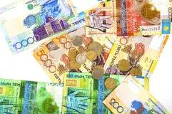 деньги kazakhstan стоковые фото