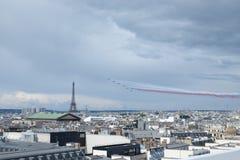День Бастилии Patrouille de Франция Стоковые Изображения RF
