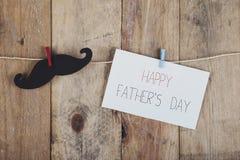 день будет отцом счастливого Стоковое фото RF