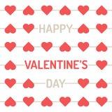 День валентинки соединять стрелки сердца в линиях предпосылке иллюстрация штока